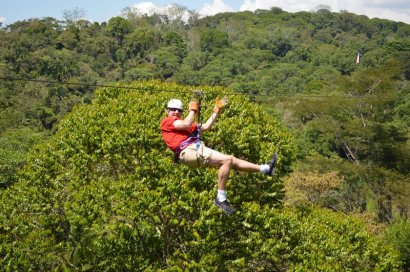 ziplining gary big daddy 5